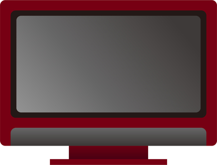 Television (red)