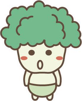 Broccoli Character 1