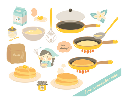 How to make hot cake