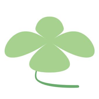 Four Leaf Clover: Flower Material