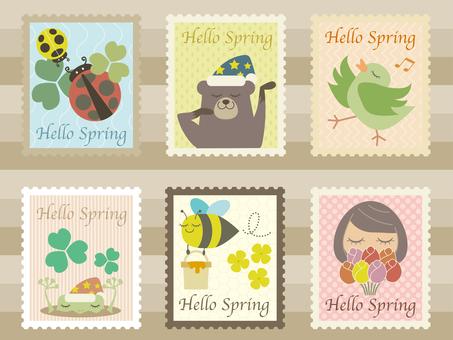 Material 07 (stamp set 01 spring)