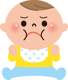 Baby (get angry)