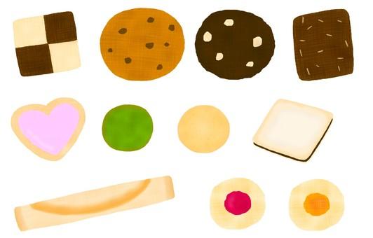 Various cookies