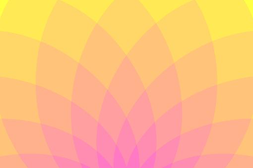 Background pattern Orange