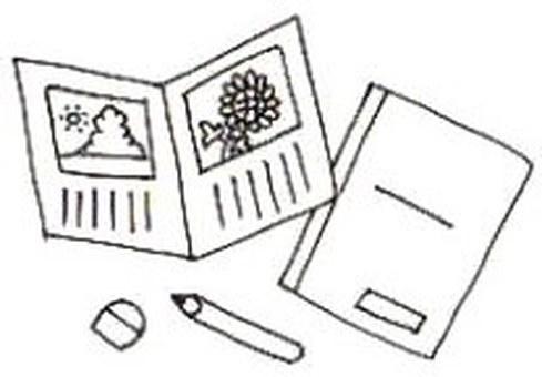 Picture diary (monochrome)
