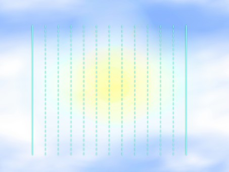 Vertical writing stationery E0660
