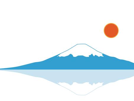 Simple Mt. Fuji
