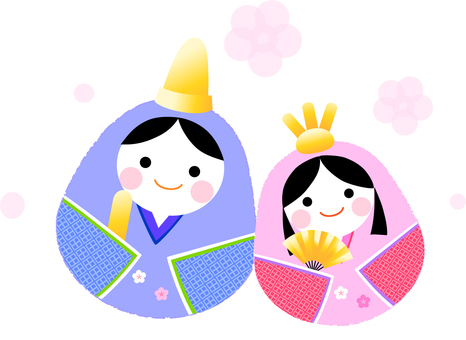Illustration of Hinamatsuri