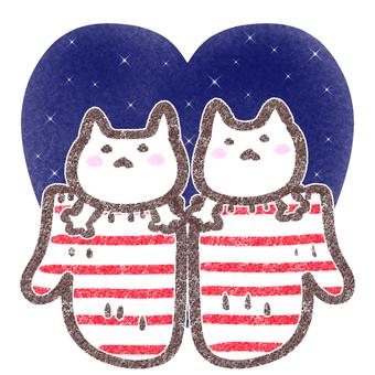Cat Heart / Night Sky