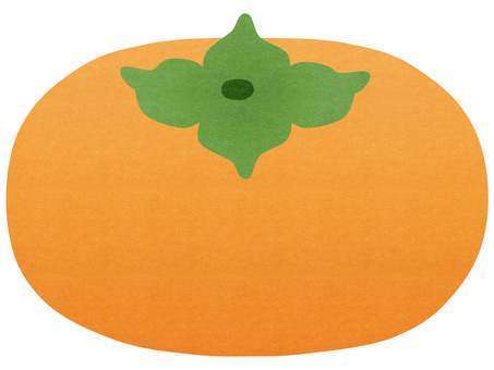 Thin persimmon