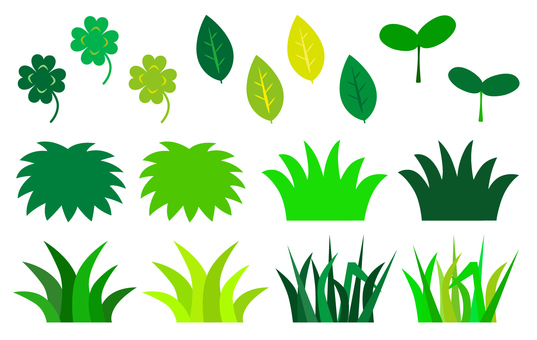 Leaf grass