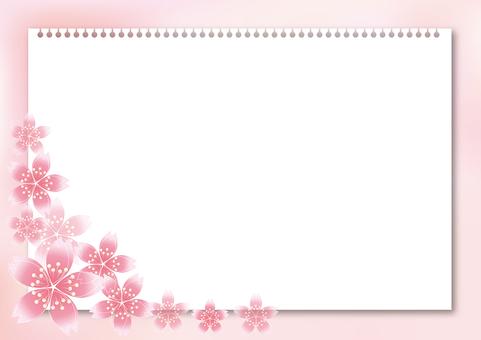 Sakura cherry tree & board 39