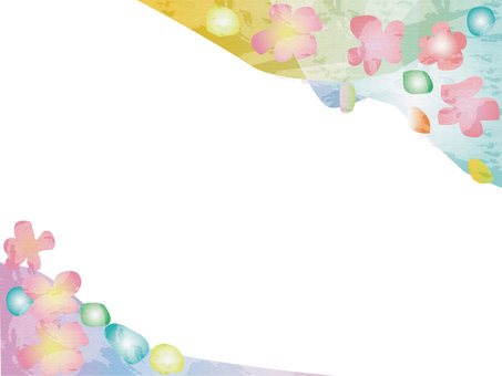 Japanese Style Sakura Frame