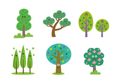 Various wood characters 2