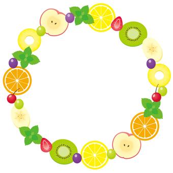 Cute fruit frame ♡