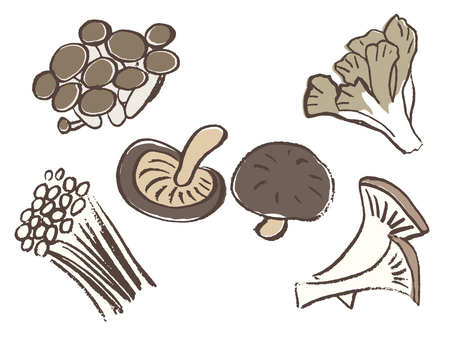 Mushrooms Various