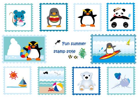 Stamp Wind Series 6 Summer