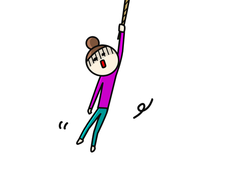 String dangling