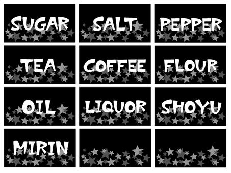 Seasoning label 2