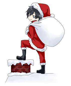 Red Santa Claus _ Boys
