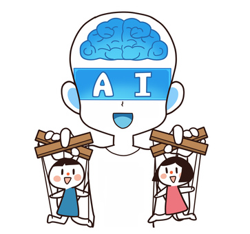 Artificial intelligence (AI) that manipulates a doll