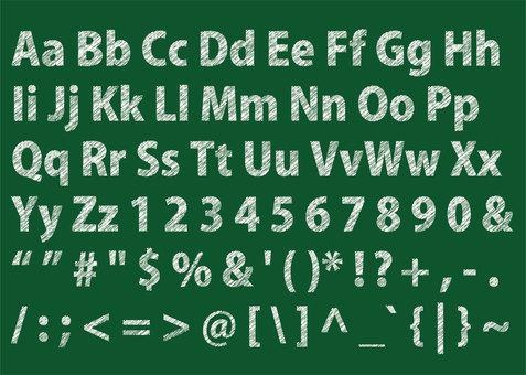 Character 11_04 (Alphabet / Symbol)