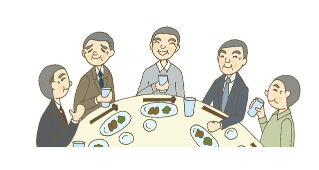 Dinner party 10 (senior male)