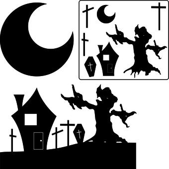 Halloween display design