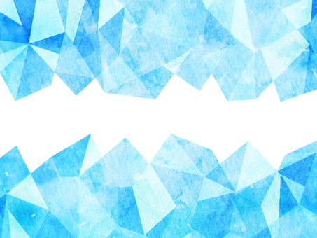 Ice watercolor style illustration background material