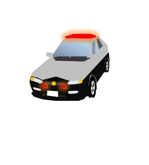 Police car (wire pear)