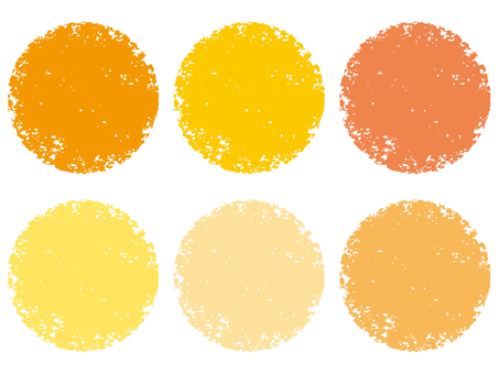 Stamp circle _ yellow series _ cs