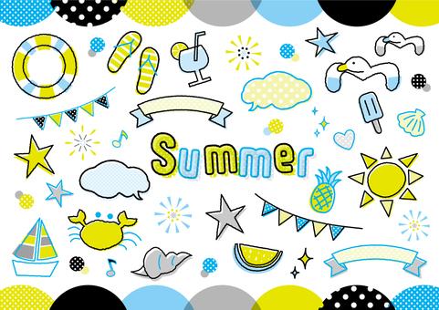 夏のモチーフいろいろ_B