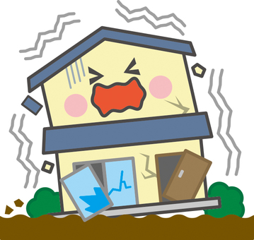 Home disaster [earthquake]