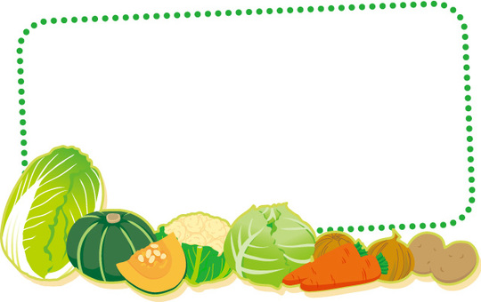 Vegetable frame 7