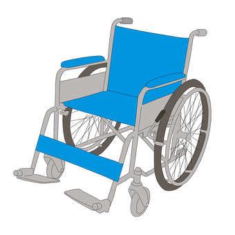 Wheelchair (color version)