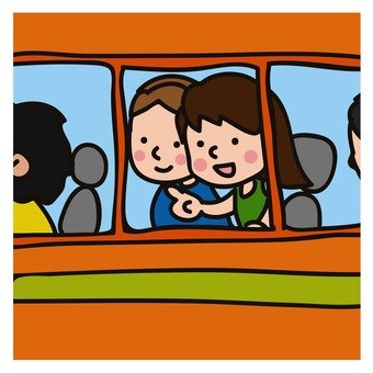 Honeymoon in the bus