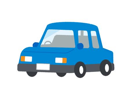 Car Vehicle Passenger Car Blue