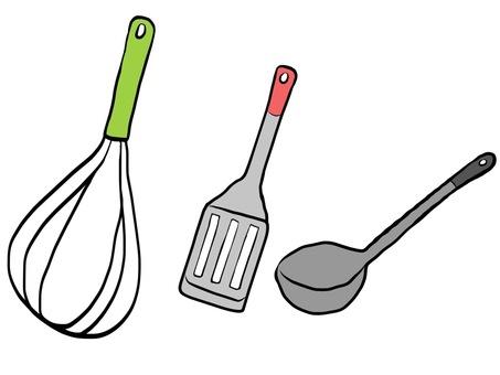Kitchen utensils 6
