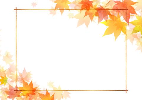 Fall image material 111