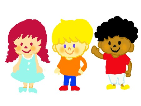 Children of various countries