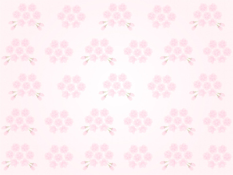 Cherry blossom pattern (light coral) Japanese paper style texture