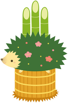 Hedgehog Kadomatsu