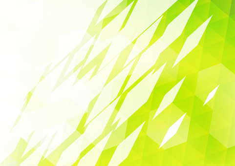 Green polygon frame background material