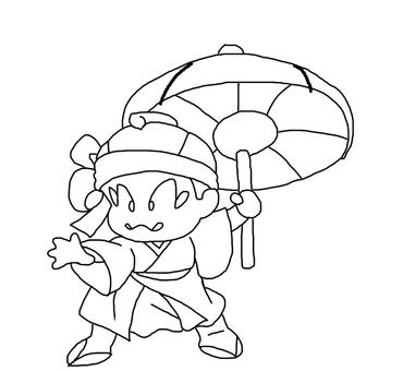 Susumu / line drawing