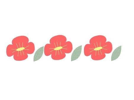 Scandinavian flower line