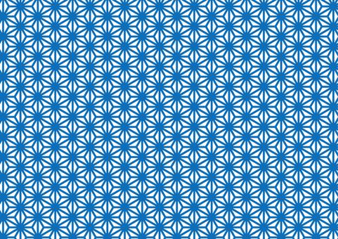 Japanese pattern (hemp leaf) 5