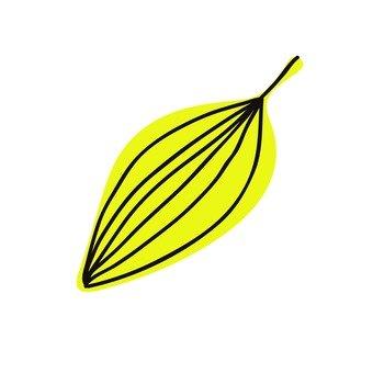 Scandinavy leaves (yellow)