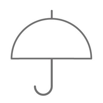 Umbrella 2 (black and white)