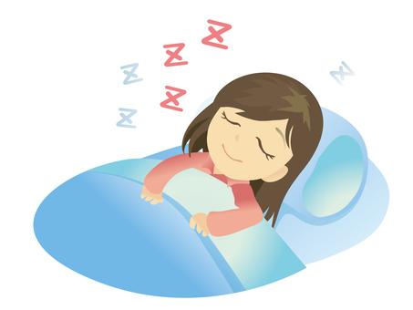 Sleep woman 002
