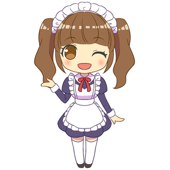 Maid guide wink